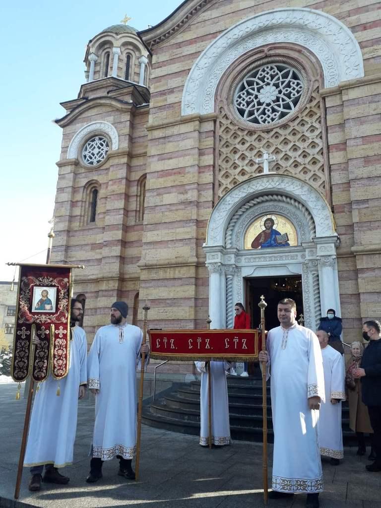 Богојављење у Бањалуци 2021. љета Господњег