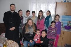 """Подијељена помоћ у добротворној акцији """"Будимо људи"""", о Божићу 2015. љ.Г."""