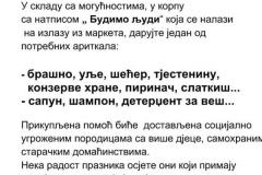 """Добротворна Васкршња акција """"Будимо људи"""", 2019. љ.Г."""