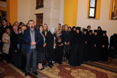 Монашење у манастиру Осовици