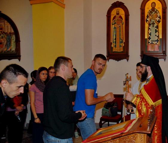 Посјета манастиру Осовици- мај 2014. љ.Г.