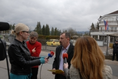 Уручено протестно писмо Генералном конзулату Републике Хрватске
