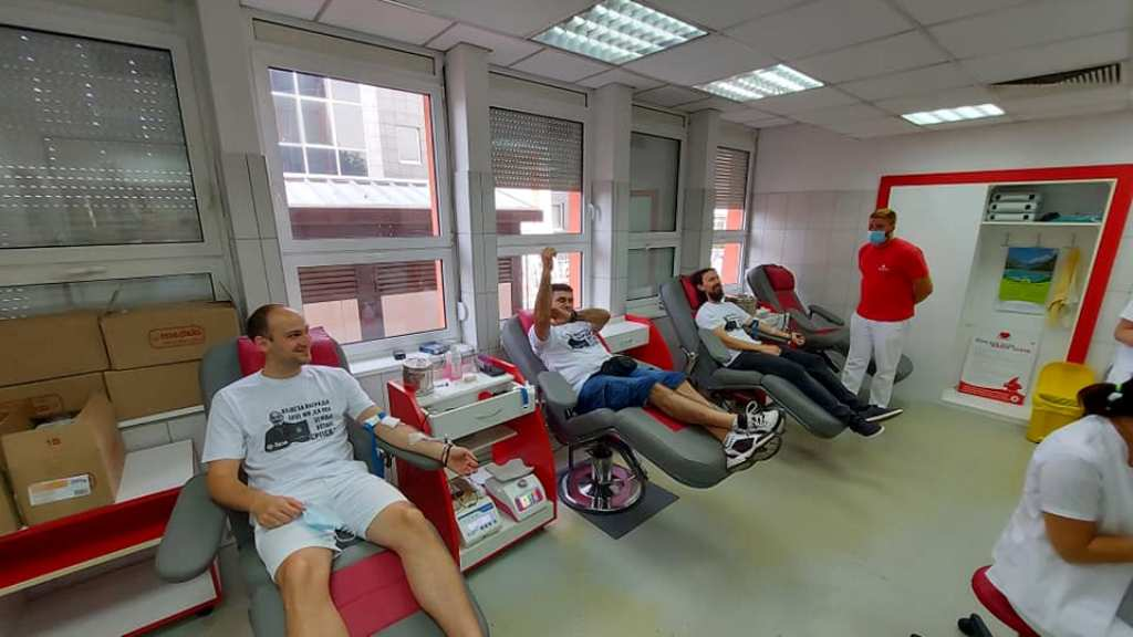 Успјешна акција даривања крви