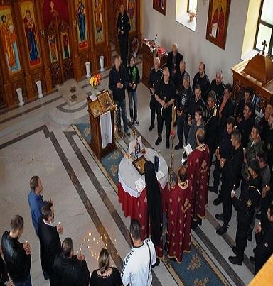 Баштионик на парастосу Његовом Величанству Краљу Петру II