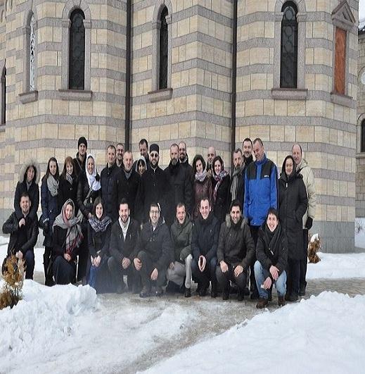 Активисти Баштионика у Осовици- Недјеља Православља