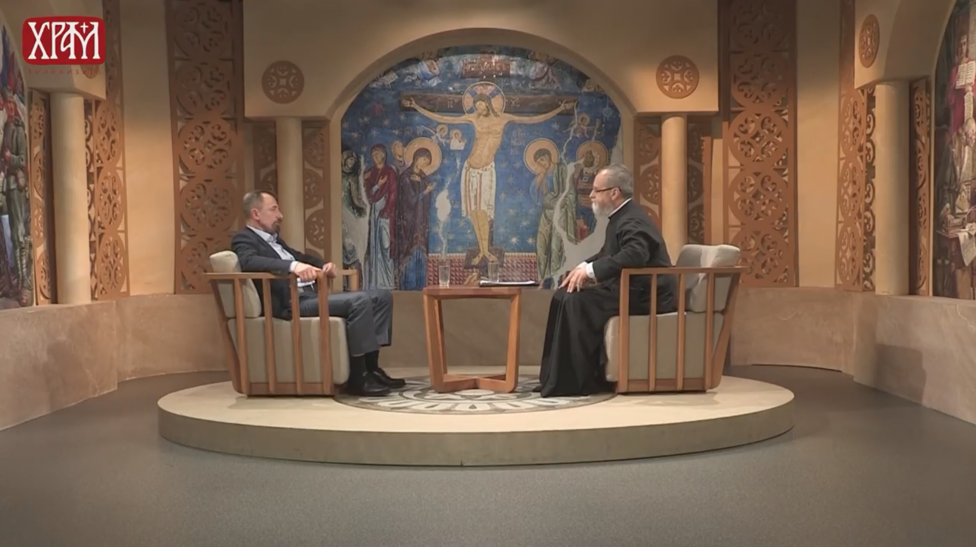Гостовање предсједника Баштионика на ТВ Храм