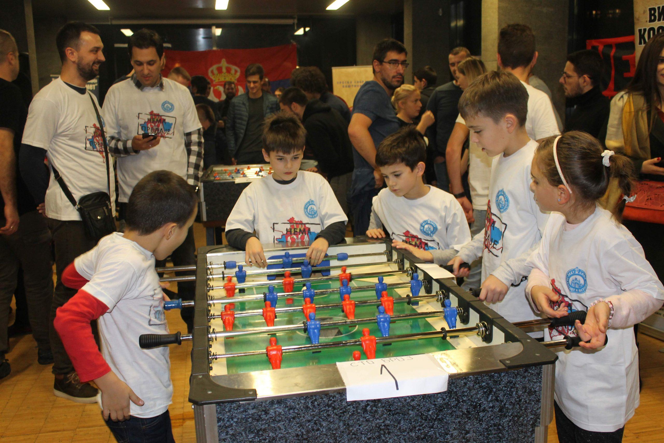 Бања Лука за Косово и Метохију - Одржан добротворни турнир у стоном фудбалу